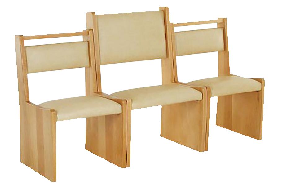 Ensemble fauteuil et chauffeuse - sur mesure - lieux de culte