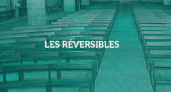 Bancs gamme réversible - bancs de culte