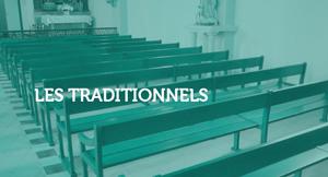Bancs lithurgiques de culte - Gamme Les traditionnels