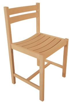 Gamme intemporelle - Chaise de culte funéraire - Modèle Marie